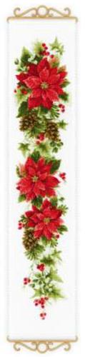 1729 Krížiková súprava vešiak - RIOLIS 19x90cm