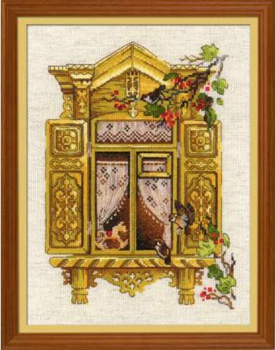 1731 Krížiková súprava RIOLIS 40x30cm